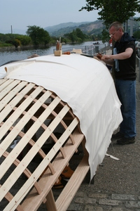 Building a Currach / Curragh Boat