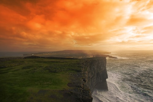 The Aran Islands are full of Irish countryside and truly one of the most magical places to visit in Ireland.