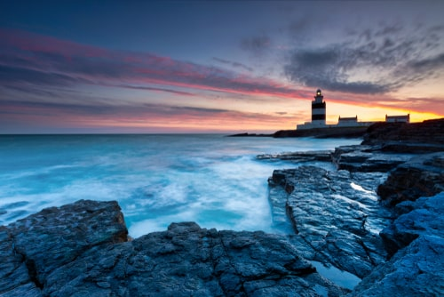 Hook Lighthouse is the world's oldest operational lighthouse, one of the most beautiful places in Ireland.