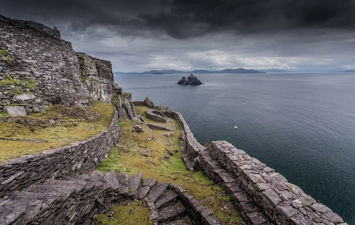 Skellig Michael is another of the most magical places to visit in Ireland.