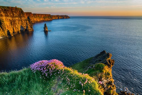 The Cliffs of Moher is one of the most beautiful places in Ireland.