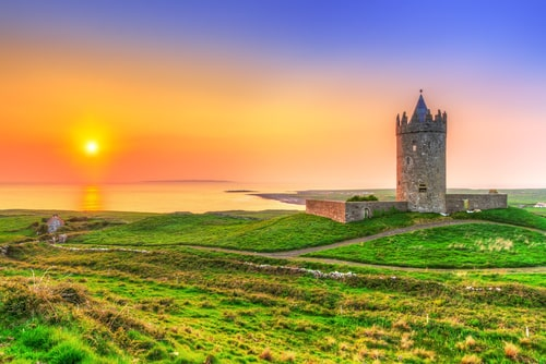 Beautiful Irish Sunset